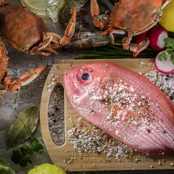 Whole and Portioned Fish